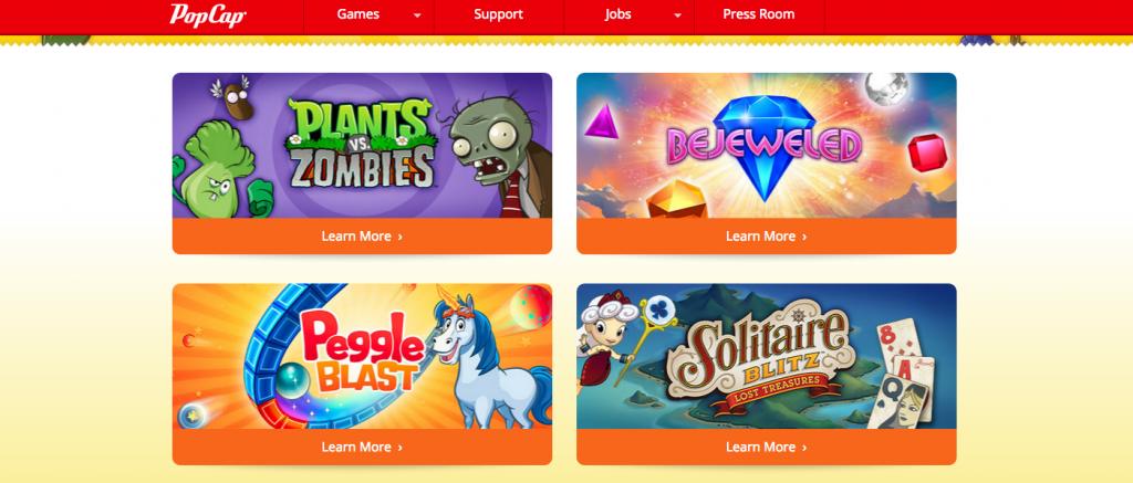 PopCap-Top-Game-Developers
