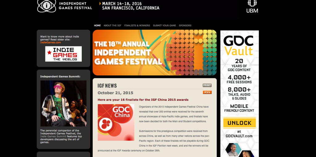 Independent Game Festival-Top-Game-Developers