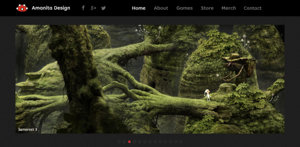 Amanita homepage TGD